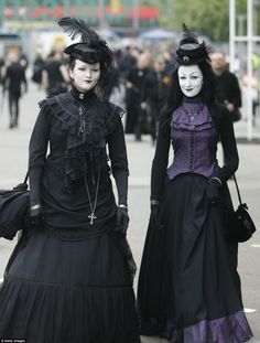 What started out in 1992 as a small music festival in Germany. The Wave Gothic Festival is now one of the biggest gatherings of Goth, Cybergoth and Steampunk fans worldwide.