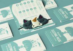 Ööloom Sleeping Masks Packaging Redesign on Packaging of the World - Creative Package Design Gallery