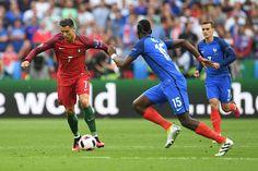 Cristiano Ronaldo vs Pogba #PORFRA #EURO2016