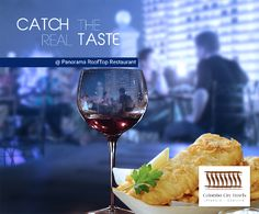 Enjoy your meal with one of the best panoramic meals in Colombo City Hotel. #CCH