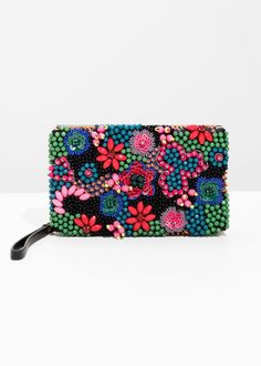 other stories Beaded Embellished Clutch