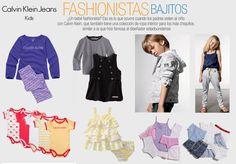 Diseños de calvin Klein Jeans Kids