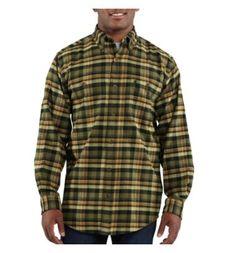 Carhartt - Product - Men's Trumbull Plaid Shirt
