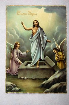 Jesus Our Savior, Jesus Is Risen, Jesus Is Lord, Christian Images, Christian Art, Stained Glass Church, Jesus Christ Images, Jesus Painting, Easter Religious
