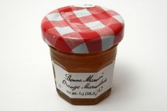 Bonne Maman Orange Marmalade comes from France.  Add some orange goodness to your toast or pastry #breakfast #spread