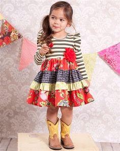 What beautiful dress!