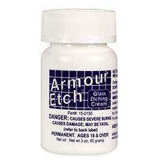 Armour Etch 3 oz. bottle (NOT RECOMMENDED FOR CLEANING GLASSES!)