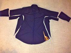 Men's Dress Shirt to Little Black Dress Refashion http://diaryofamadmama.wordpress.com/2013/07/19/49-cent-friday-mens-dress-shirt-to-lbd-refashion/