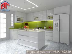 Mẹo cải tạo không gian bếp rộng hơn, tiết kiệm chi phi cho nhà đẹp