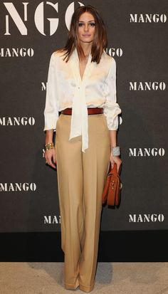 Olivia Palermo has definitely got style. She totally nails this 70s look to the wall.   Picture via WWW