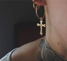 "272 Likes, 7 Comments - 💌 hello@GetRockedShop.com (@get_rocked) on Instagram: ""✧ @amorraejewelry ✧ Endless love for these Endless Cross Hoops❣ ⇢ Shop:…"""
