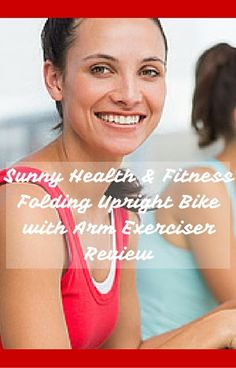 In depth Sunny Health & Fitness Folding Upright Bike with Arm Exerciser Review. Read this first! Folding Exercise Bike, Exercise Bike Reviews, Upright Bike, Spin Bikes, Upper Body, Sunnies, Health Fitness, Arms, Gift Ideas