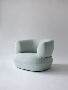 Moving Mountains Puffer Chair