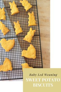 Easter sweet potato biscuits perfect for baby led weaning. Are you weaning your little one? Give these biscuits a go. Find the recipe on the blog and follow along with the how to video.