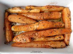 morcovi copti cu cimbru