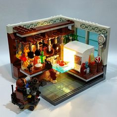 Love this setting | LEGO