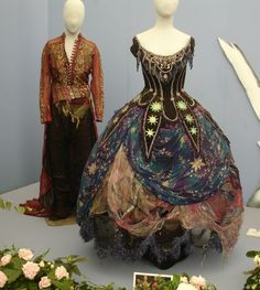 Costumes for Oberon and Titania from the Royal Shakespeare Company's 1981 production of A Midsummer Night's Dream