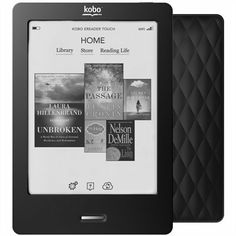 Packing multiple books to the cottage has never been easier with the Kobo Touch Black! #indigo #perfectsummer