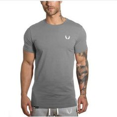 a142d2ae Men clothing summer style solid t-shirt male casual t-shirt new fashion men  tops tees