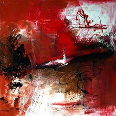 Véronique Brosset [ Pétul'anse   Acrylique sur toile - 2013 -   60 x 60 cm ]