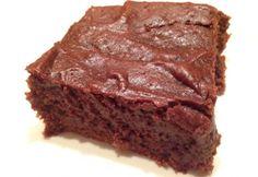 Mézes brownie
