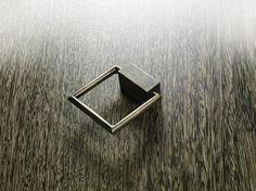 MAN 03,cast brass casegood knob. Bellavista Collection.