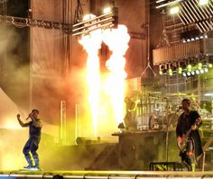 Epic Firetruck's Rammstein at Chicago Open Air 2016 ~ Steven J. Messina Photography ~