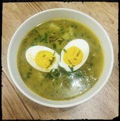 Soup Recipes, Cooking Recipes, Polish Recipes, Polish Food, Catering, Good Food, Food And Drink, Eggs, Menu
