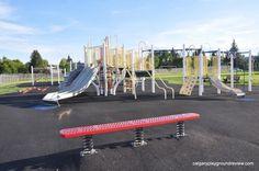 St. Cecelia school playground - Accessible Playground - Calgary, AB