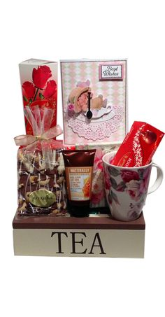Gift basket: Tea Lover