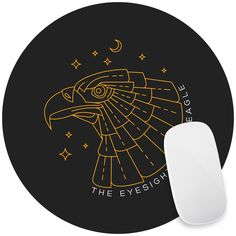 Eagle Eye Mouse Pad Decal
