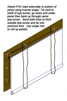 8 Best Outdoor Blind Rope And Pulley System Images
