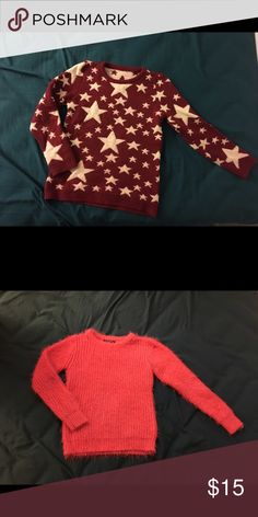 Sweater The sweaters are in good condition.                     Please leave a comment if you are interested. Thanks! Sweaters