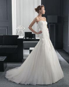 素晴らしい ビスチェ ホール マーメイドライン ウェディングガウン ウェディングドレス Hro0127