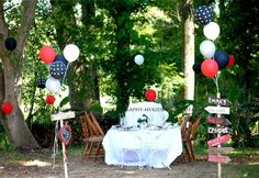 vintage Alice in Wonderland-tea party Birthday Party Ideas | Photo 9 of 21 | Catch My Party