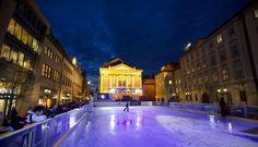 Где покататься на коньках в Праге. Выбираем каток