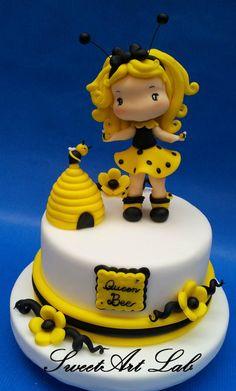 Queen+Bee+-+Cake+by++Michela+Barocci+-+Sugar+Artist+