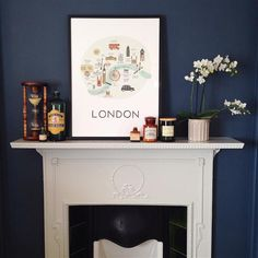 An inspirational image from Farrow and Ball. Stiffkey Blue No 281.