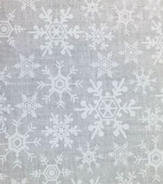 Noel Collection-Flakes Tonal White.  A big piece of this would be nice.