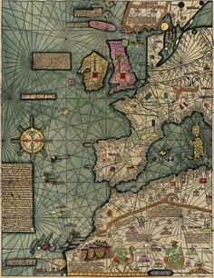 """Catalan Atlas (fragment) The Catalan Atlas is the most important Catalan map of the medieval period. It was produced by the Majorcan cartographic school and is attributed to Cresques Abraham (also known as """"Abraham Cresques""""), a Jewish book illuminator who was self-described as being a master of the maps of the world as well as compasses."""