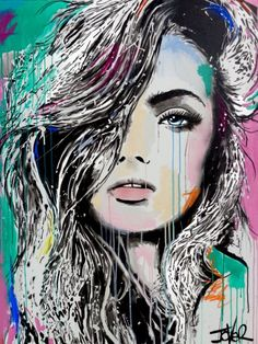 Buy NEW WAVE, Acrylic painting by Loui Jover on Artfinder. Discover thousands of other original paintings, prints, sculptures and photography from independent artists.