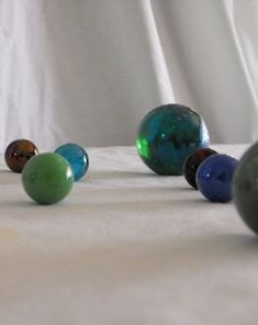 Marble Physics: Using Marbles to demonstrate Newton's Third Law of Motion.