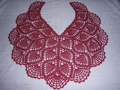Pineapple Shawl