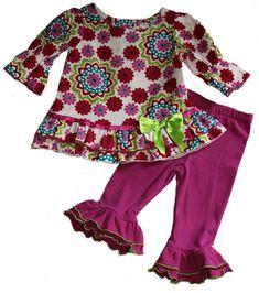 Baby Girls 0-6 Months Zutano Lovely Paisley Leggings