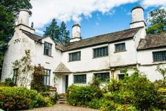 Townend Farm, Troutbeck, Cumbria - perhaps the best surviving example of a Lake District statesman's house.