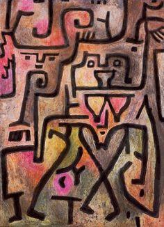 Paul Klee - Waldhexen