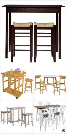 """Explore our site for additional info on """"pub set kitchen"""". It is actually an outstanding place to get more information. Counter Height Table Sets, Pub Table Sets, Outdoor Patio Bar Sets, Outdoor Furniture Sets, Pub Set, Wood Patio, Cool Bars, Wooden Tables, Glass Table"""