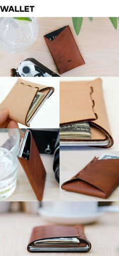 A collection of laser-cut wallets, device cases, and satchels. Handcrafted using nothing but leather.