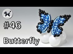 Butterfly Balloons, Balloon Flowers, Balloon Decorations, Birthday Decorations, Ballon Animals, Twisting Balloons, How To Make Balloon, Balloons And More, Holidays And Events