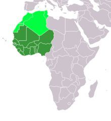 """Wikipedia contributors, """"West Africa,"""" Wikipedia, The Free Encyclopedia, [http://en.wikipedia.org/w/index.php?title=West_Africa&oldid=591017240] (accessed January 19, 2014)   #westernafrica"""